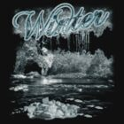Winter T Shirt - Frost And Ice by Moonlake