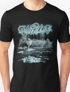 Winter T Shirt - Frost And Ice T-Shirt