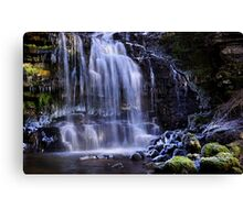 Scaleber Force in winter - The Yorkshire Dales Canvas Print