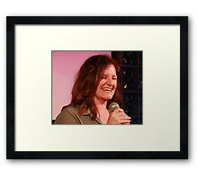 Kate Burr - Comedian Framed Print