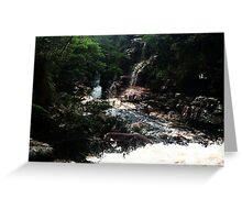 Waterfall - Brazil, Lençois Greeting Card