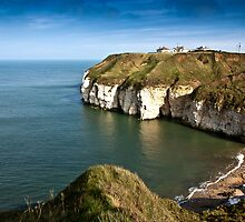 Thornwick Bay by Trevor Kersley