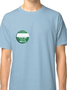 The Inbetweeners - Your own Big Gay Green badge Classic T-Shirt