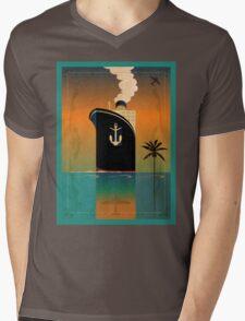 Cruiseliner Mens V-Neck T-Shirt