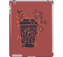express yourself iPad Case/Skin