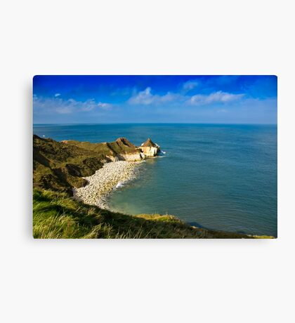 Thornwick Bay  #2 Canvas Print