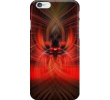 Red Fury iPhone Case/Skin