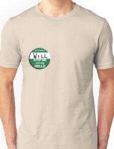 The Inbetweeners - Hi I am Will Big Gay Green badge Unisex T-Shirt
