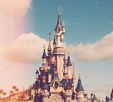Disney Land Castle by jessicafawn