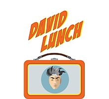 DAVID LUNCH by burro Photographic Print