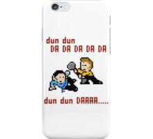 8bit Spock Kirk Amok Time iPhone Case/Skin