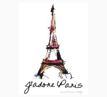 J'adore Paris Tee by romanticdesigns