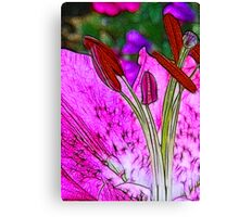 Fractalius Flower Canvas Print