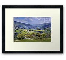 Wharfedale - The Yorkshire Dales Framed Print
