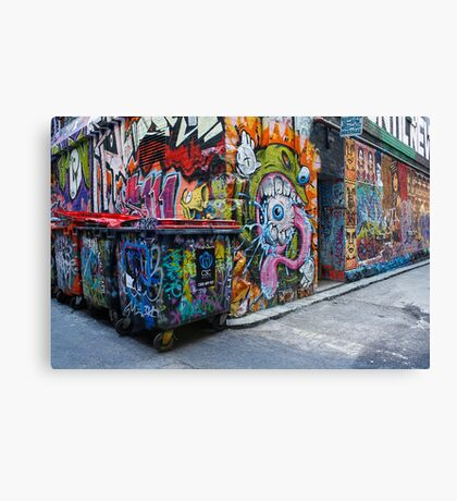 The Graffiti Canvas Print