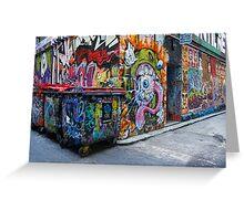 The Graffiti Greeting Card