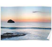 Gull Rock Wave, Trebarwith Strand, Cornwall. Poster