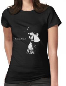Sad Zombie (Dark Shirts Only) Womens Fitted T-Shirt