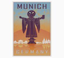 Munich vintage poster Kids Tee