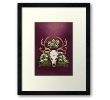 Nordic Witch Framed Print