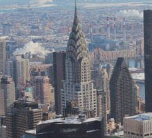 The Chrysler Building New York City  Sticker