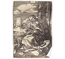 Albrecht Dürer or Durer The Virgin and Child with the Pear Poster