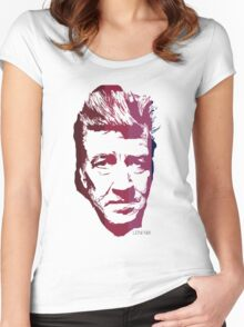 David Lynch in colours Women's Fitted Scoop T-Shirt