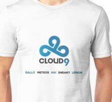 League Of Legends - Cloud9 Team Unisex T-Shirt