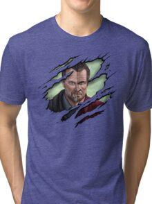 The thin line between... part 2 Tri-blend T-Shirt