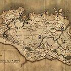 Skyrim map by Jdoyle