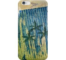 THREE PALM RAIN iPhone Case/Skin