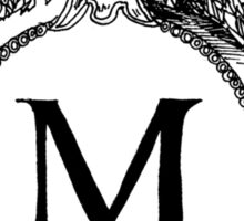 M is for Mariam Sticker