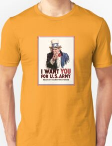 "Uncle Sam ""I Want You""  T-Shirt"