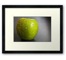 juicy apple Framed Print