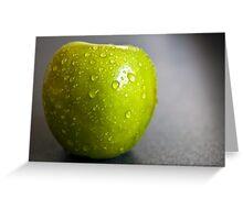 juicy apple Greeting Card