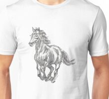 The Valiant Beast - Running Horse Unisex T-Shirt