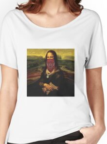 Thug Life Mona Lisa Women's Relaxed Fit T-Shirt