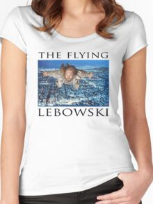 The Flying Lebowski Women's Fitted Scoop T-Shirt