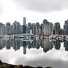 City reflections by Davidsdigits