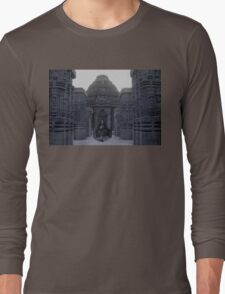 Itachi IRL uchiha temple Long Sleeve T-Shirt