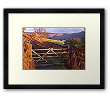 Near Ullswater - The Lake District Framed Print