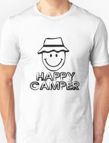 Happy camper geek funny nerd Unisex T-Shirt