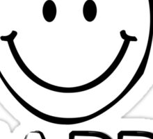 Happy camper geek funny nerd Sticker