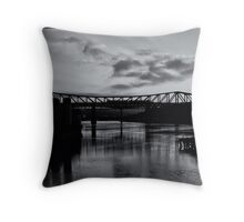 9 to 5'ers heading home Throw Pillow