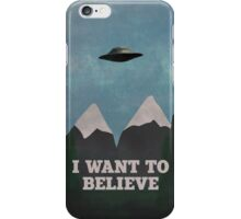 X-Files Twin Peaks mashup v2 iPhone Case/Skin