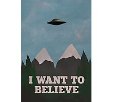 X-Files Twin Peaks mashup v2 Photographic Print
