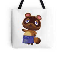 Tom Nook Animal Crossing Print Vector Tote Bag