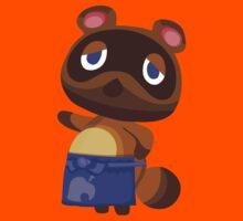 Tom Nook Animal Crossing Print Vector Kids Tee