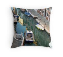 Venetian Puzzle-Venice Throw Pillow