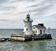 Cleveland West Breakwater Lighthouse by Monnie Ryan